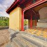 Mausoleum of King Minh Mang-Behind Stele House