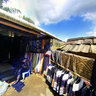 A brocade shop in Cat Cat village, Sapa