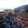 Chamonix : Start : Ultra Trail du mont blanc 2009 ( UTMB )