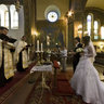 Greek Catholic church wedding