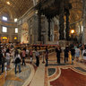 Saint Peters Basilica in Rome, Italy (Indoor)