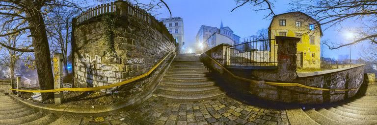 360 Panorama City Night