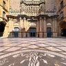 Spain, Montserrat, Monasterio, Atrium