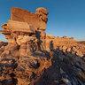 Fallen stones - Petrified Forest