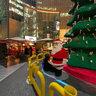Sony Center on Christmas