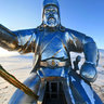 Chinggis statue