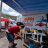 Technical area. Enduro Donetsk. 22.04.2012