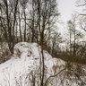 Winter impression of the castle Marienburg on Schulenburger Berg, Germany
