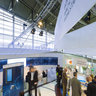 On the exhibition area of the german ministery of economy and technology  on Hannover Fairs 2013