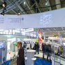 The german ministery for economy and technology - exhibition area in Hall 2 on Hannover Fairs 2013