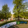 Warm up der Handbiker and Skater zum Hannover Marathon 2013