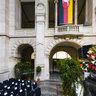 Happy Birthday altes Haus! 100.Geburtstag Neues Rathaus Hannover 5 Festaktvorbereitung