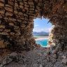 Internal Old Spanish Tower Porto Giunco Villasimius Sardinia