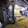 Ripe Mangoes at Crawford Market in Mumbai, India