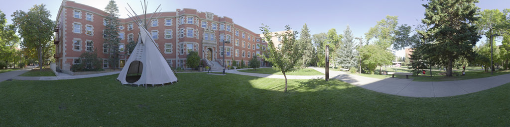 Main Quad, Pembina Hall
