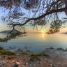 Kastani Beach Trail To Milia Skopelos Greece