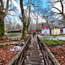 Agios Nikolaos Wooden Bridge Naousa Greece