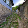 Alley In Dilofo Village Zagoria Greece