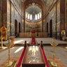 Новый Афон. Монастырь. Пантелеймоновский собор. Интерьер. (2010)