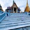 wat phra kaew at dawn