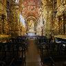 Vista-interna-igreja-convento-santo Antônio - Largo da Carioca - Rio de janeiro- brasil