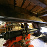 Gun deck of Batavia ship, Lelystad, the Netherlands