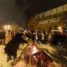 Winter Solstice ritual in Old Riga, Latvia