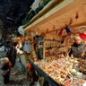 Christmas Market at Livu Square in Old Riga, Latvia