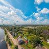 Ķīpsala aerial view, Riga