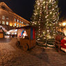 Winter fair at Dome Square in Old Riga