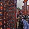 Badamtala Durga Puja Pandal