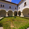 Slavonski Brod - Franciscan Monastery - Inside The Courtyard - Croatia
