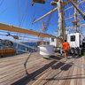 Russian Sail Training Ship Nadezhda - Above Stern