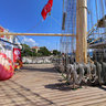 Russian Sail Training Ship Nadezhda - Deck