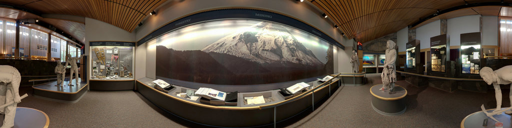 Mt.St.Helens Visitor Center at Seaquest State Park, Washington (#4)