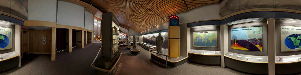Mt.St.Helens Visitor Center at Seaquest State Park, Washington (#3)