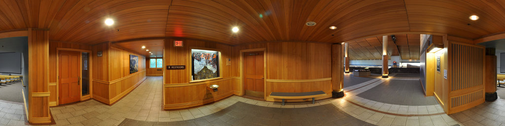 Mt.St.Helens Visitor Center at Seaquest State Park, Washington (#9)