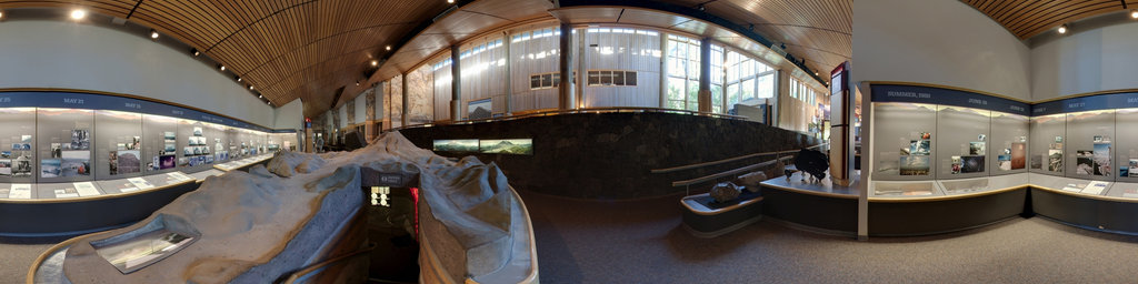 Mt.St.Helens Visitor Center at Seaquest State Park, Washington (#6)