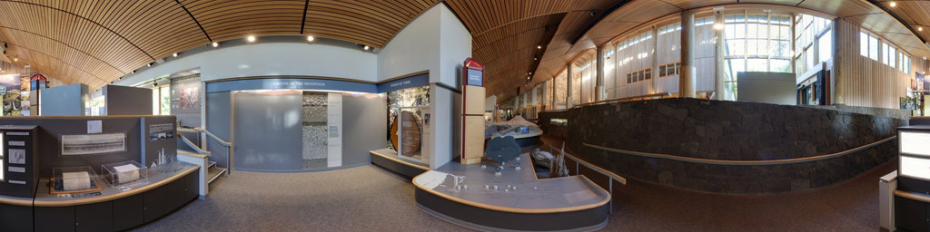 Mt.St.Helens Visitor Center at Seaquest State Park, Washington (#8)
