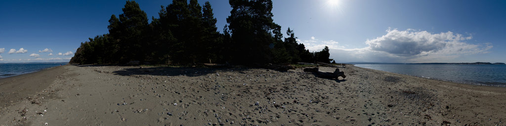 Marine Trails Campsite - Fort Flagler State Park, Washington