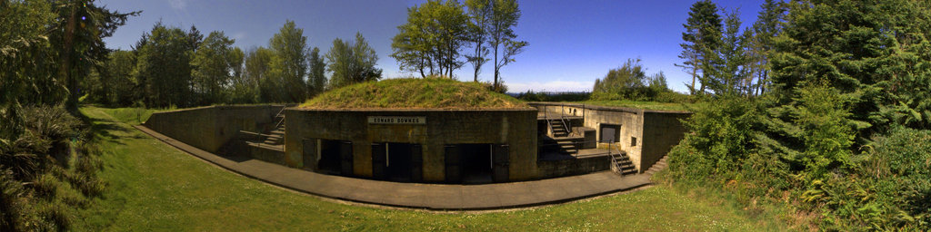 Battery Downes - Fort Flagler State Park, Washington