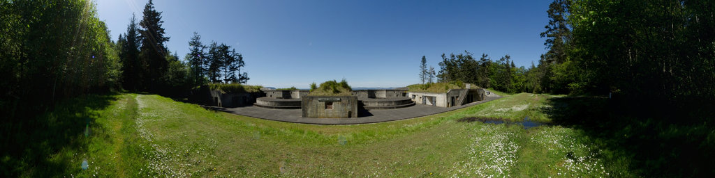 Battery Calwell - Fort Flagler State Park, Washington