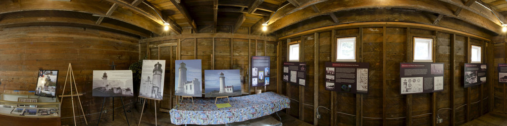 Interpretive Display at North Head - Cape Disappointment State Park, Washington
