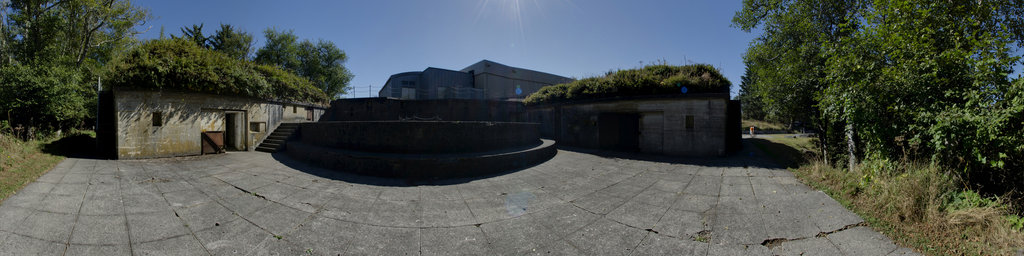 Battery Allen, Gun #2 Emplacement - Cape Disappointment State Park, Washington