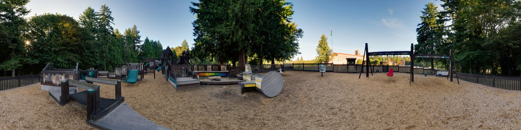 Saint Edward Playground (1) - Saint Edward State Park, Washington State