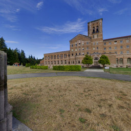 Seminary Front Lawn - Saint Edward State Park, Washington State