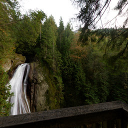 Twin Falls Viewpoint (1) - Olallie State Park, Washington State