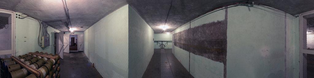 Battery 246, Rear Corridor - Fort Columbia State Park, Washington
