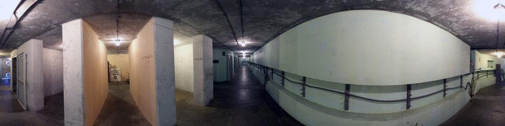 Battery 246, NW Main Corridor - Fort Columbia State Park, Washington