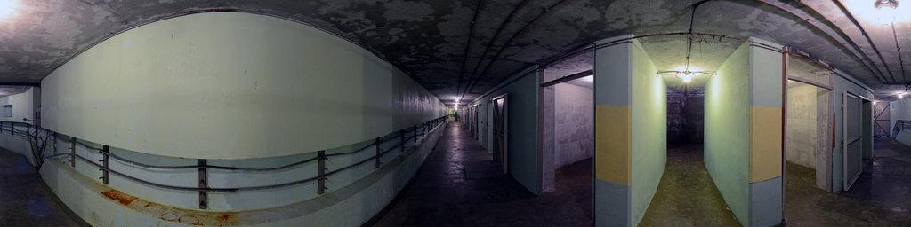 Battery 246, SE Main Corridor - Fort Columbia State Park, Washington